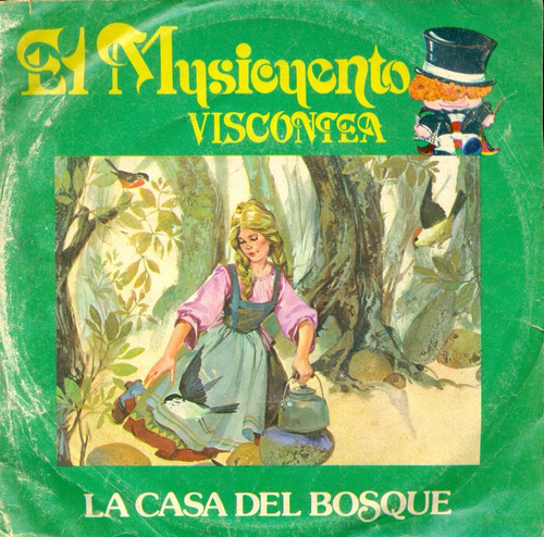 vinilo viscontea - la casa del bosque # 50