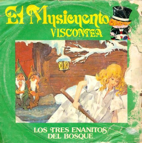 vinilo viscontea - los tres enanitos del bosque # 47-