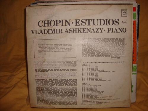 vinilo vladimir ashkenazy chopin studios sl