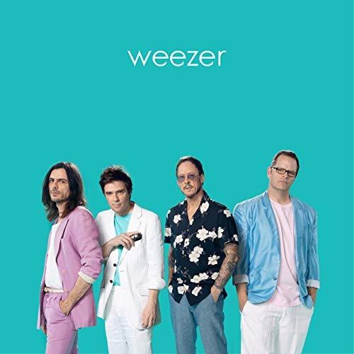 vinilo : weezer - weezer (teal album) (colored vinyl)