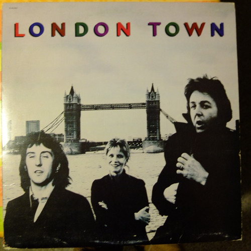vinilo wings: london town