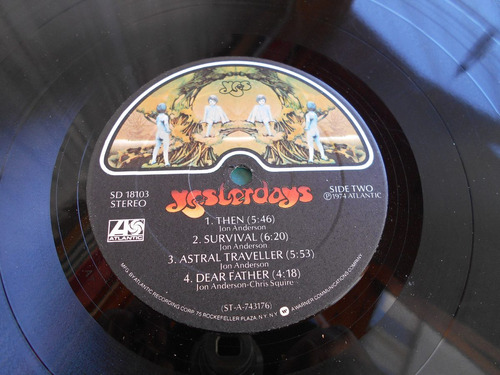 vinilo yes yesterdays