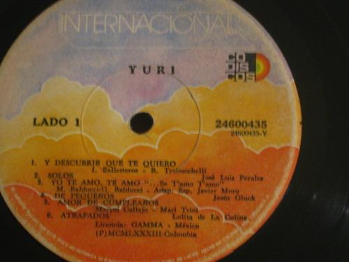 vinilo yuri- yuri