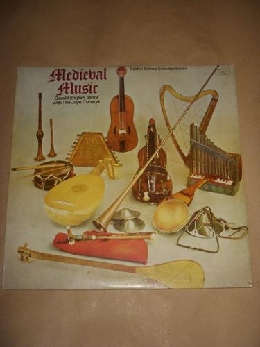 vinilo.música medieval.g.english,tenor.the jaye consort.