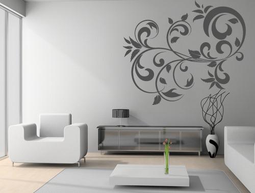 Vinilos adhesivos decorativos arabescos figuras for Decoracion de vinilos