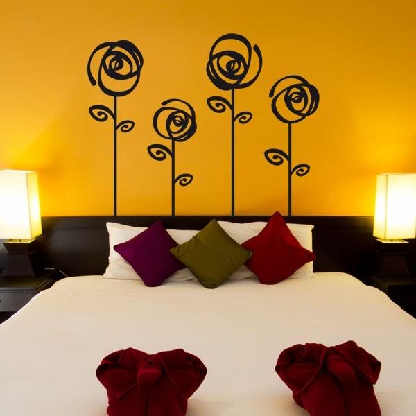 Vinilos adhesivos decorativos cabeceras para camas cali for Precio de vinilos decorativos