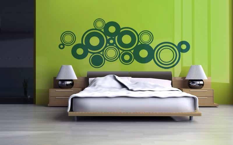 Vinilos adhesivos decorativos cabeceras para camas cali en mercado libre - Vinilos decorativos para cabeceros ...