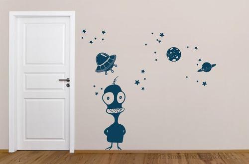 vinilos adhesivos decorativos ciencia ficcion