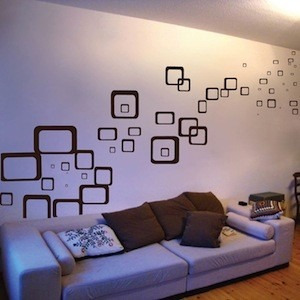 vinilos adhesivos decorativos cuadrados