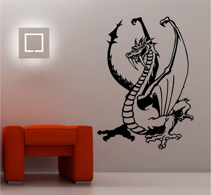 Vinilos adhesivos decorativos dragones en - Vinilos adhesivos decorativos ...