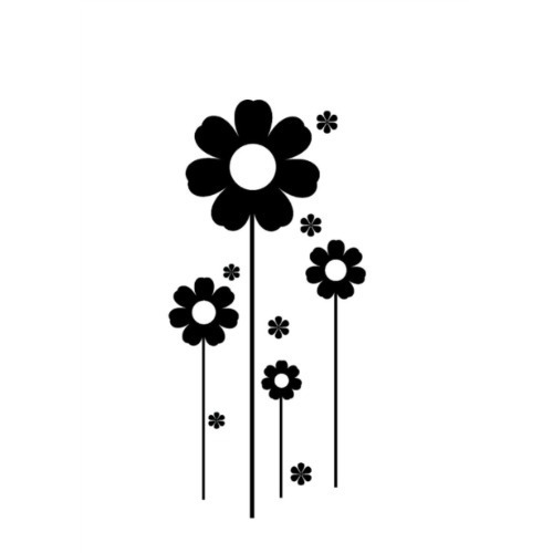 Vinilos adhesivos decorativos flores en mercado - Vinilos adhesivos decorativos ...