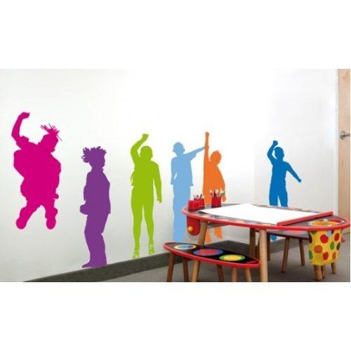 Vinilos adhesivos decorativos habitaciones ni os y jovenes for Adhesivos pared ninos