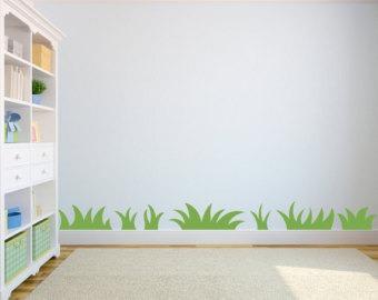 vinilos adhesivos decorativos hierba, pasto, prado