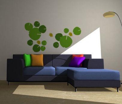 vinilos adhesivos decorativos hojas
