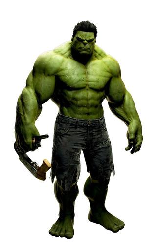 vinilos adhesivos decorativos hulk - el hombre increible