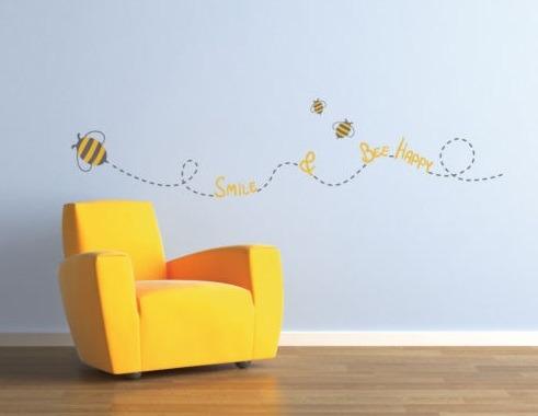 vinilos adhesivos decorativos  insectos y bichos