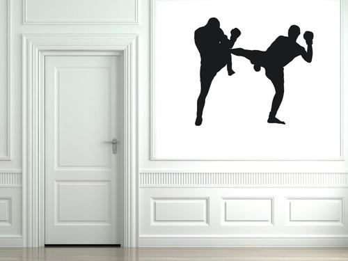 vinilos adhesivos decorativos kick boxing