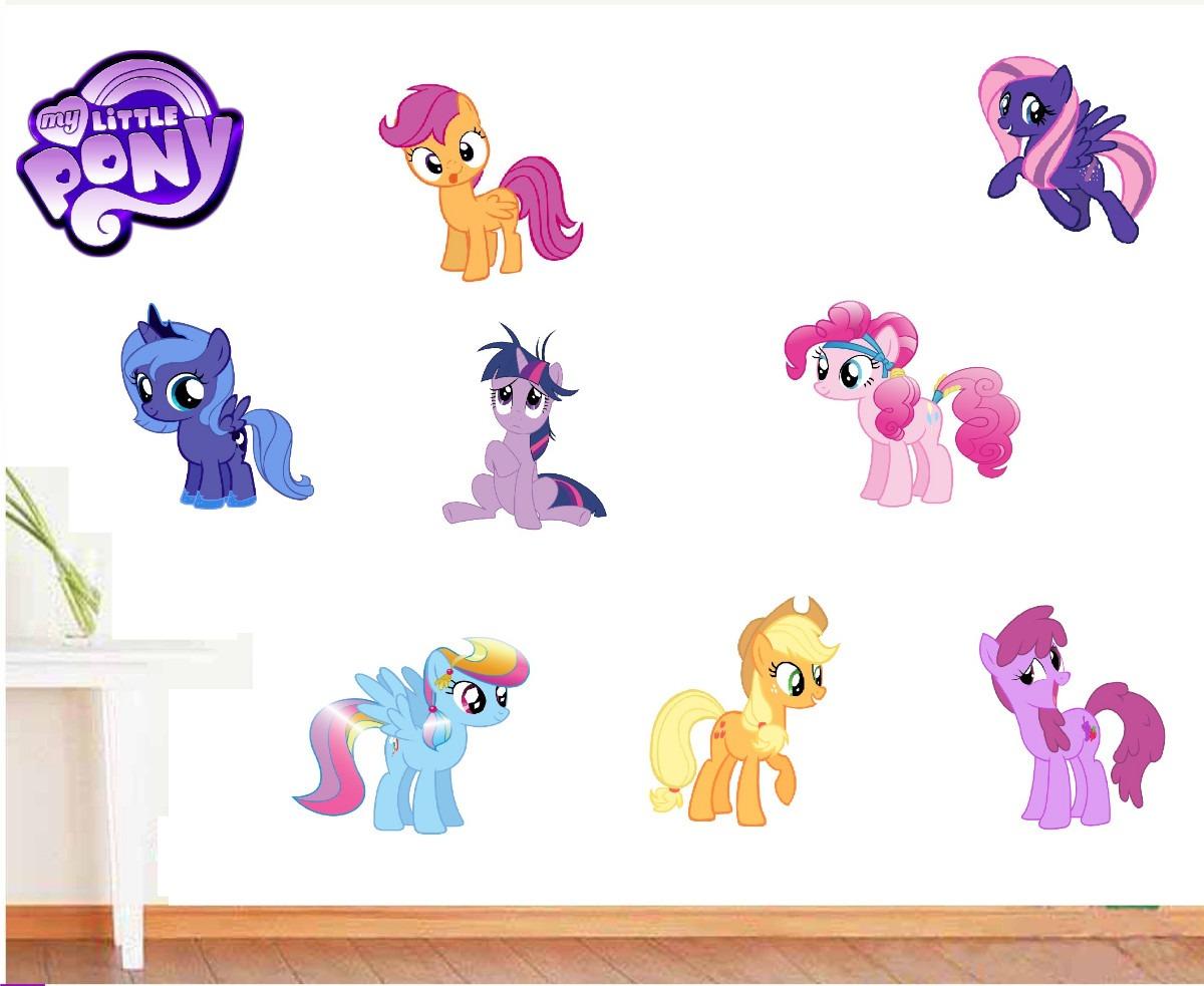 Vinilos adhesivos decorativos mi peque o pony en mercado libre - Vinilos pequenos ...