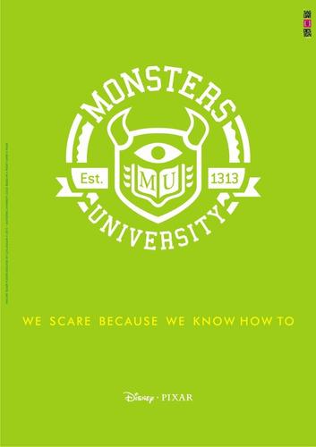 vinilos adhesivos decorativos monsters university