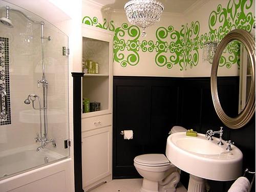 vinilos adhesivos decorativos para el baño