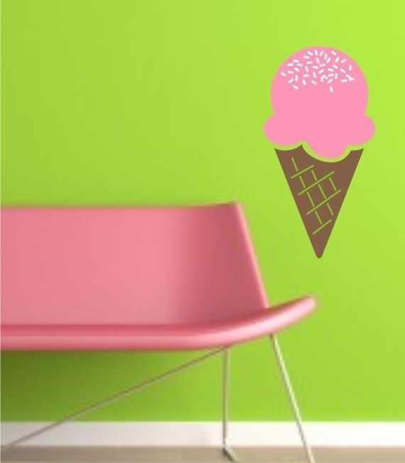 Vinilos adhesivos decorativos para heladerias for Adhesivos decorativos de pared