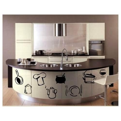 Vinilos adhesivos decorativos para la cocina en mercado libre - Vinilo para cocinas ...