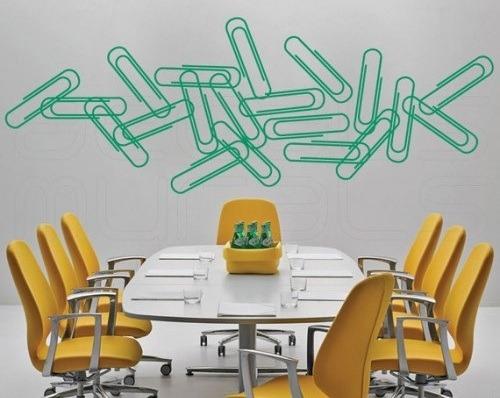 Vinilos adhesivos decorativos para oficinas en mercado libre for Vinilos decorativos oficina