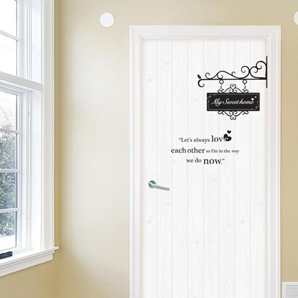 Vinilos adhesivos decorativos para puertas en for Vinilos decorativos puertas