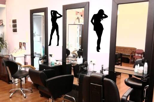 Vinilos adhesivos decorativos para salones de belleza y - Vinilos de salon ...
