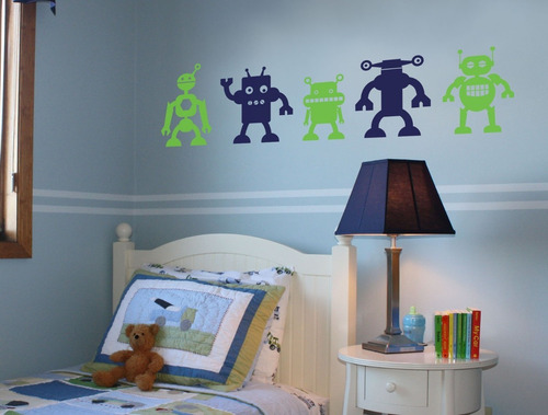 vinilos adhesivos decorativos robots