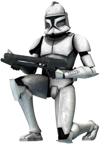 vinilos adhesivos decorativos star wars - clone wars
