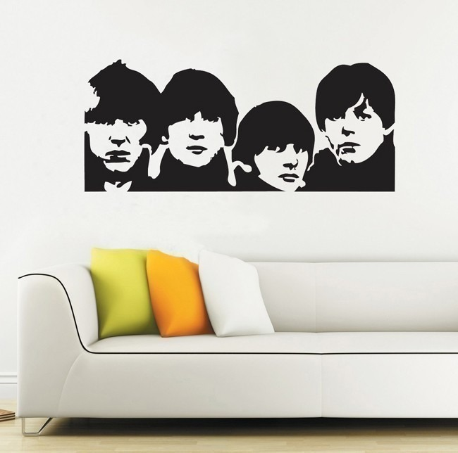 Vinilos adhesivos decorativos the beatles en - Vinilos adhesivos decorativos ...