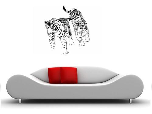 vinilos adhesivos decorativos tigres