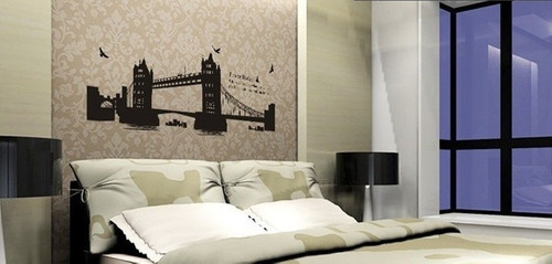 vinilos adhesivos decorativos - tower bridge  puente londres
