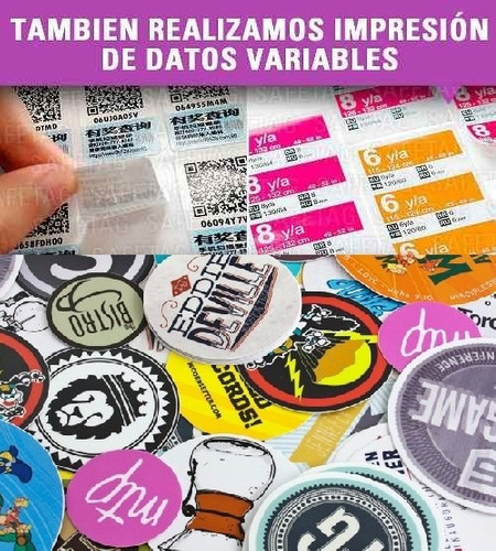 vinilos autoadhesivos etiquetas stickers calcos transparentes troquelados especiales formas resistentes agua diseños etc