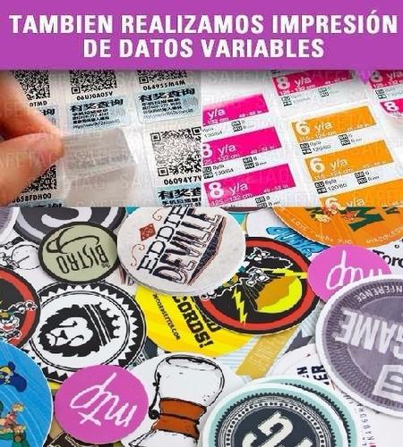 vinilos autoadhesivos stickers etiquetas termotrasnferibles troquelados especiales formas resistentes agua personalizada