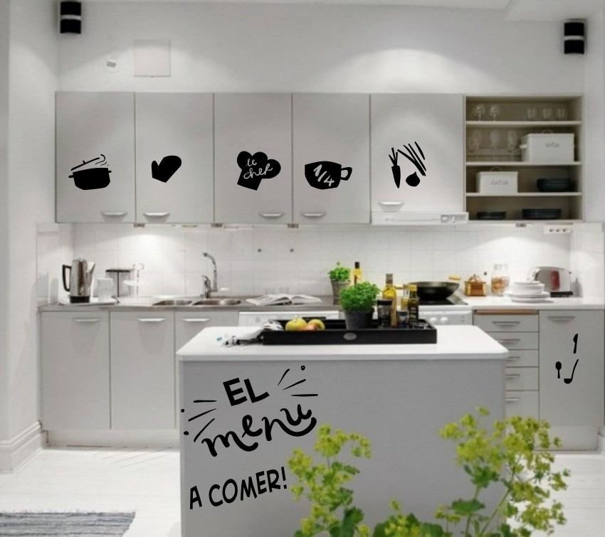 Vinilos cocinas decorativos frases nuevos env o gratis for Donde encontrar vinilos decorativos