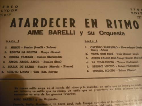 vinilos de aime barelli y su orquesta (81)