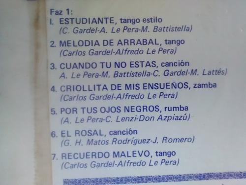 vinilos de carlos gardel canciones de peliculas (u313