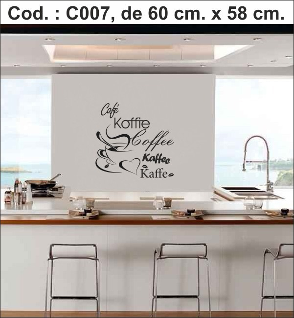 Vinilos Decorativo Cocina Para Pared Heladera Muebles 490 00