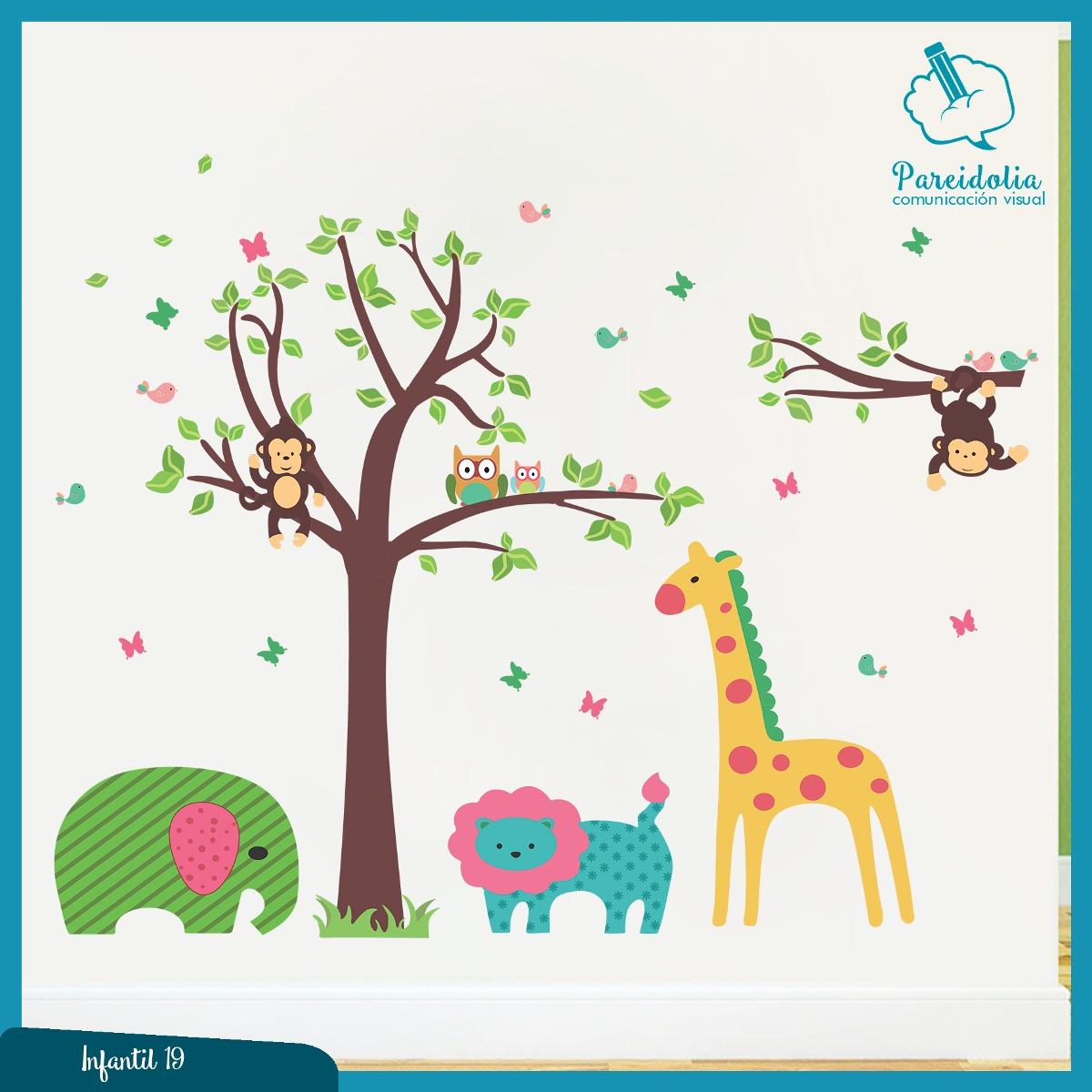 Vinilos decorativos adhesivos infantiles bebes for Vinilos decorativos infantiles