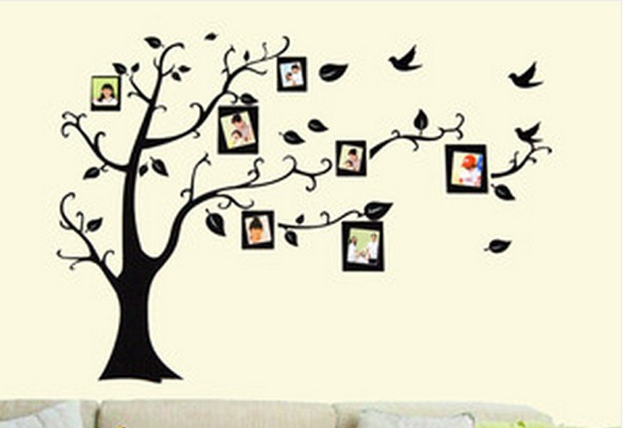 Vinilos Decorativos Arbol Familiar De Fotos 180m X 2m 120000