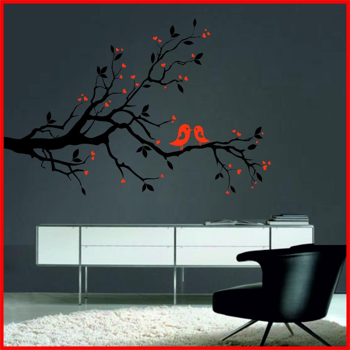Vinilos decorados decoracion de interiores con vinilos decorativos floralesmov vinilos - Vinilos decorativos arboles ...