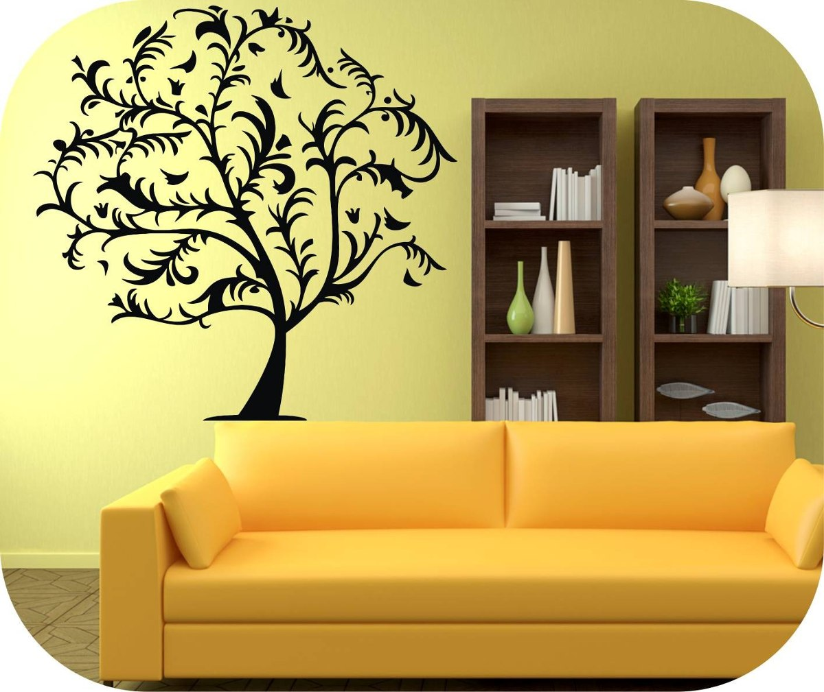 Vinilos decorativos arboles y ramas decoracion paredes stic bs en mercado libre - Vinilos decorativos arboles ...