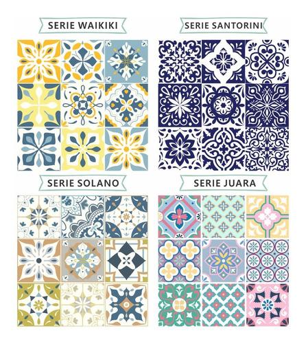 vinilos decorativos azulejos autoadhesivos 20x20 cm x14 un