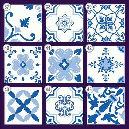 vinilos decorativos azulejos autoadhesivos cocina,baño.20x20