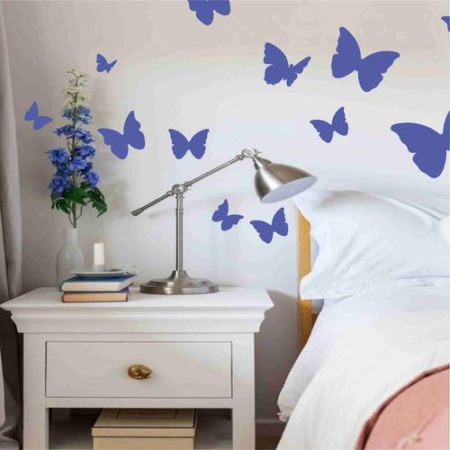 vinilos decorativos calcomania sticker mariposa pared 30cm