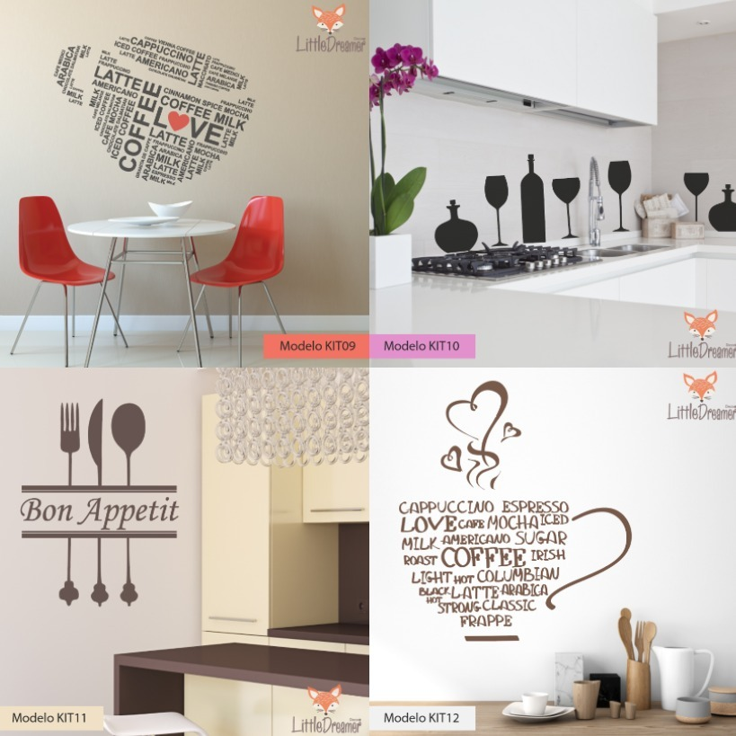 Vinilos Decorativos Cocina Comedor Living Pizarra - Medida C