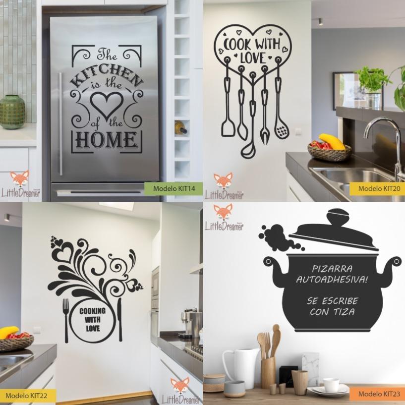 Vinilos Decorativos Cocina Comedor Living Pizarra - Medida C ...