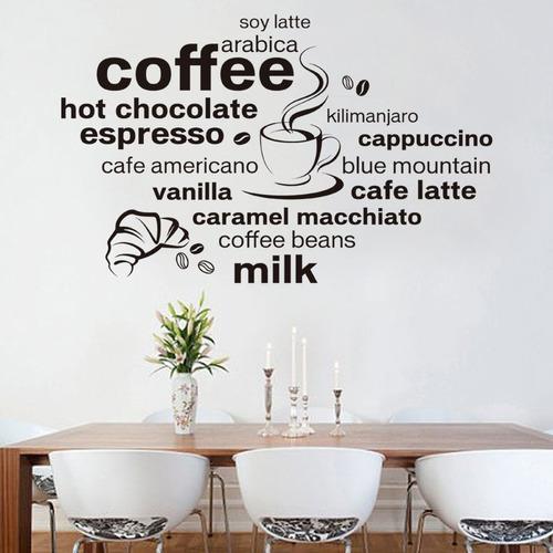 vinilos decorativos cocinas panaderias cafes restas sodas